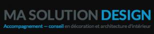 Logo architecture interieur lyon ma-solution-design.com