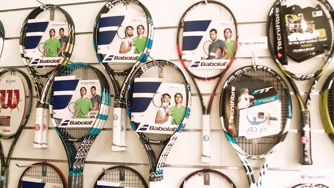 Des équipements de tennis de crazyprices.ch ?