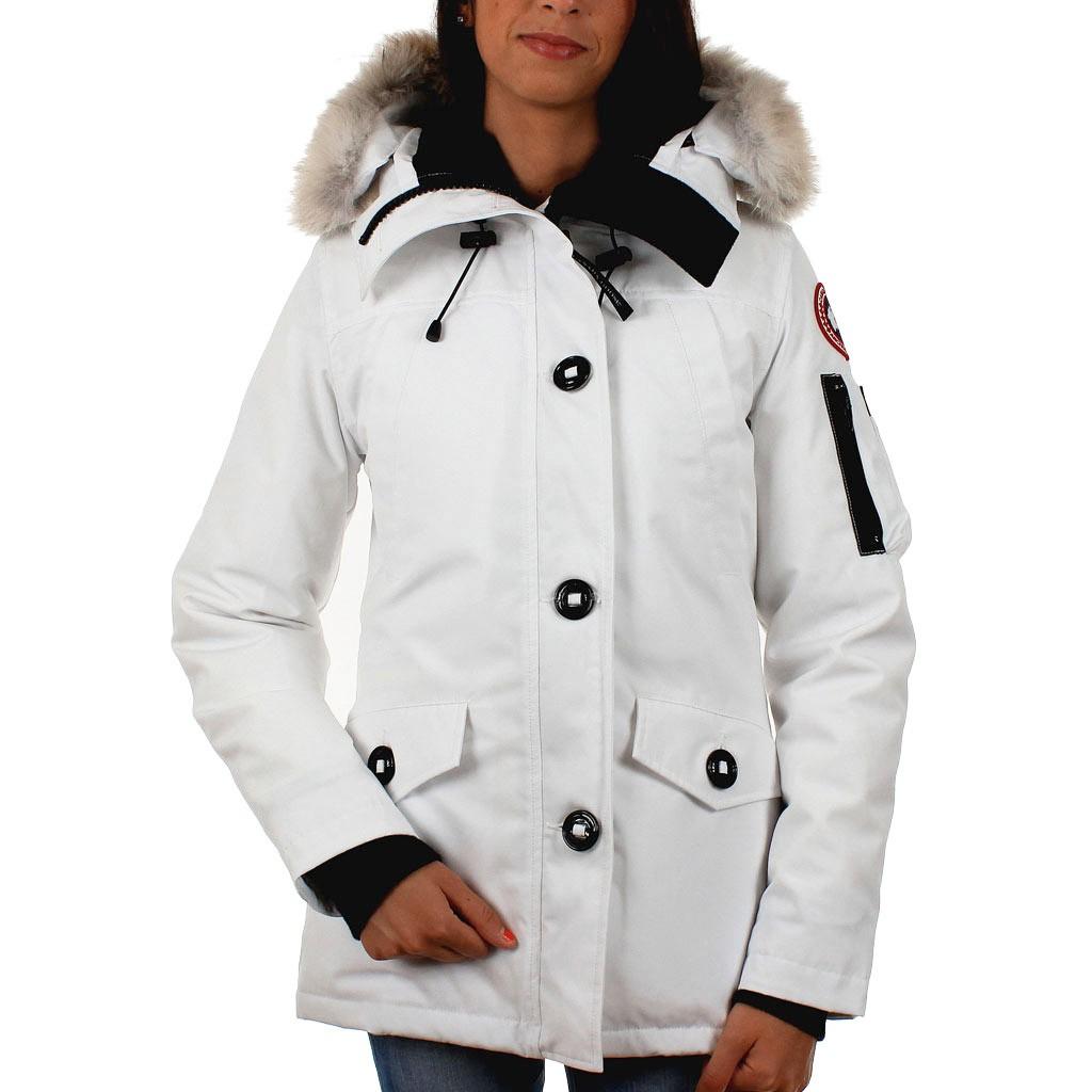 canada goose femme blanc