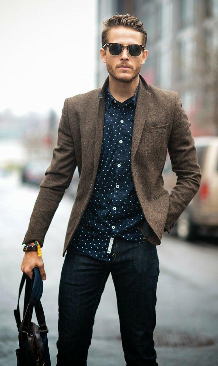 Dérivé des styles classiques, le look casual chic homme est à nouveau à la  mode