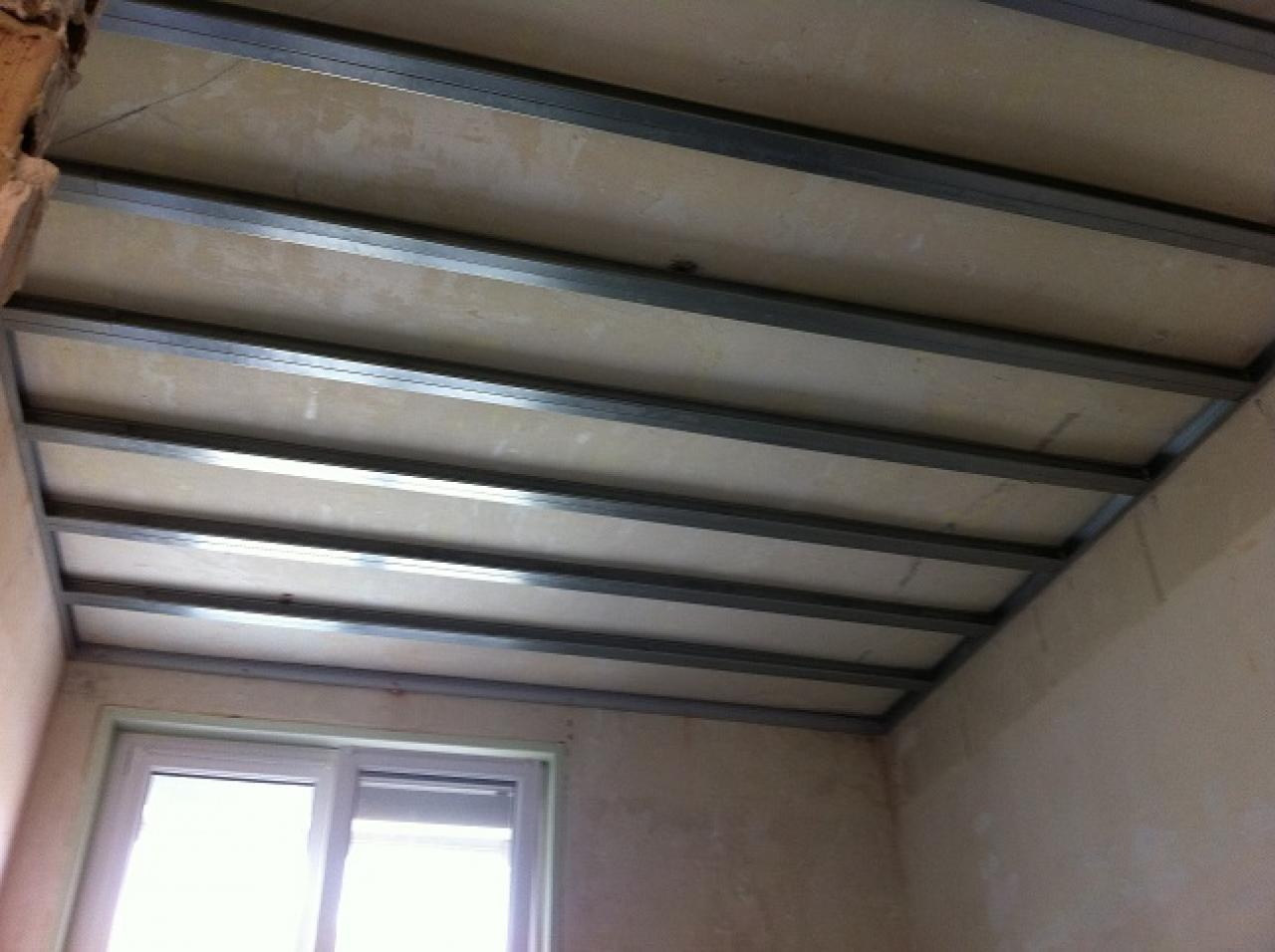 Comment faire un plafond en ba13 for Ba13 pour plafond