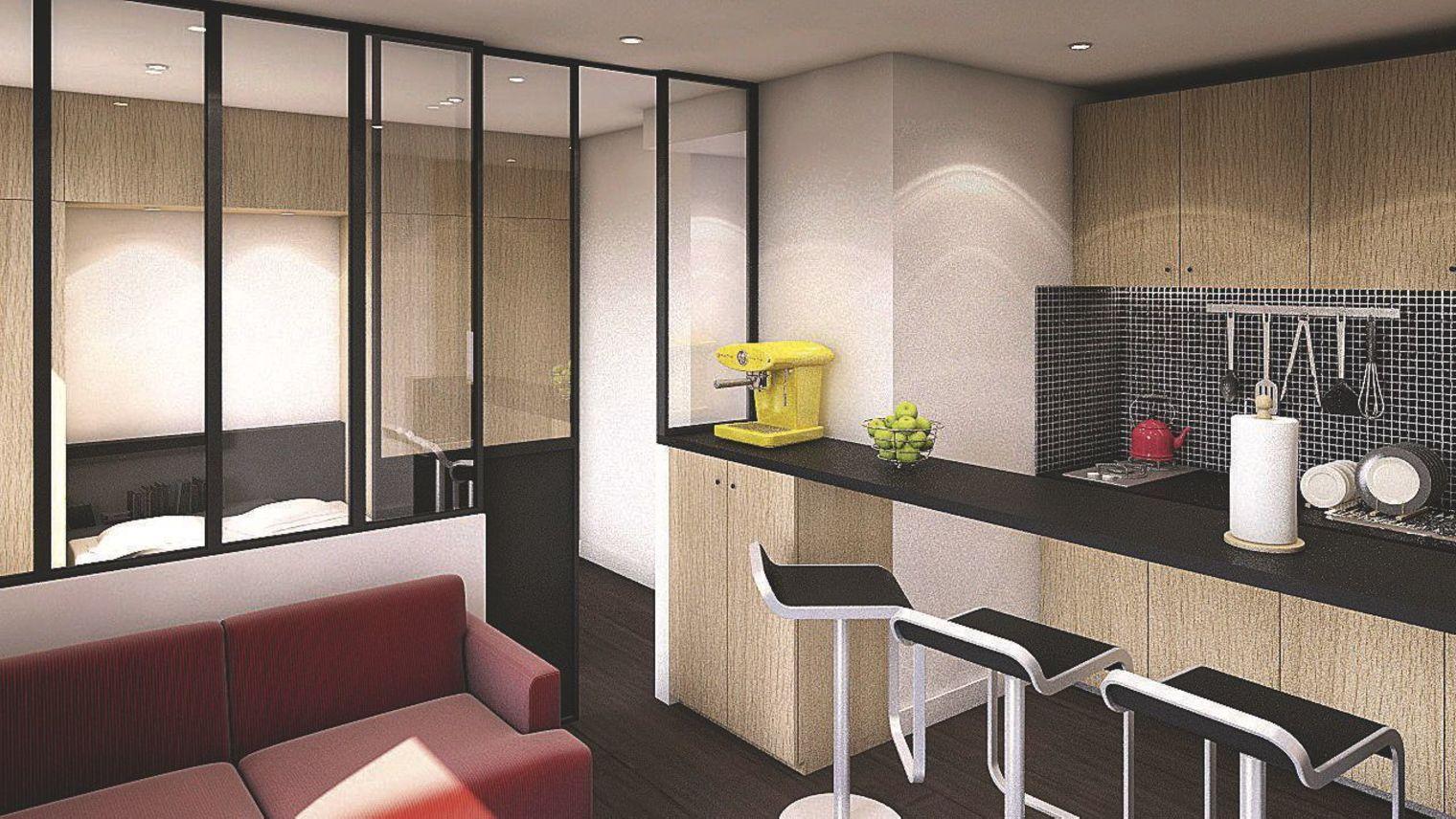 location appartement clermont ferrand j ai c d la. Black Bedroom Furniture Sets. Home Design Ideas